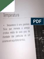 Slides Temperatura