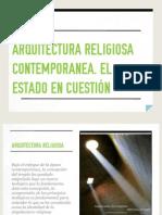 Arquitectura Religiosa Contemporanea