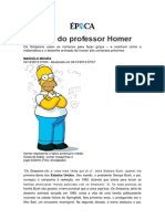 As Aulas Do Professor Homer