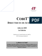 COBiT Directrices de Auditoria