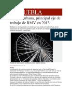 07-01-2014 Milenio.com - Imagen Urbana, Principal Eje de Trabajo de RMV en 2013