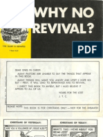 Why No Revival?