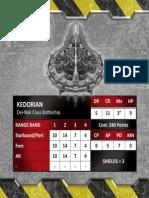 Kedorian Stats