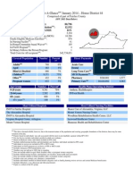 2013 44th District Medicaid District Statistics