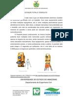 DIFERENÇA ENTRE ESTAÇÃO TOTAL E TEODOLITO