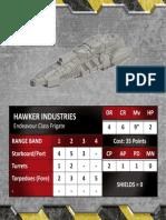 Hawker Industries Endeavour Class Frigate