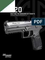 Sig Sauer P320 Pistol Brochure
