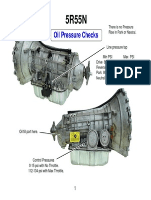 Oil Pressure Checks: Identification