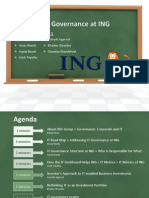 IT Governance at ING