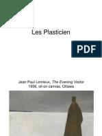 Les Plasticien