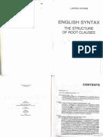 English Syntax. Larisa Avram