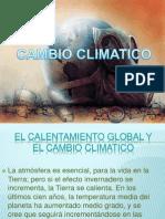 Cambio Climatico DS