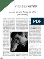 John Cassavetes. El Cine Es Una Forma de Vivir, y de Morir