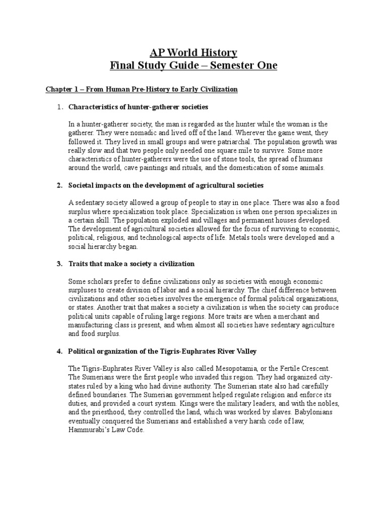 ap world history units 1 3 study guide 2018-09-27  what is world history unit 1  the book of tea charles e tuttle co  japan in world history (internet guide from spice) landes,.