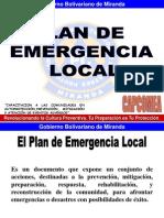 Plan de Emergencia y Mapa de Riesgo-dipcm
