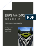 1389642901 358 ENSC180-02-Scripts Flow Control and Data Structures