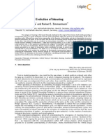 Emergence and Evolution of Meaning Jdian