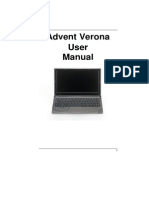 Advent Verona User Manual