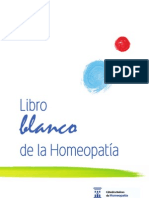 Libro Blanco Homeopatia