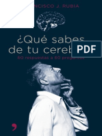 130355772 Rubia Francisco J Que Sabes de Tu Cerebro PDF
