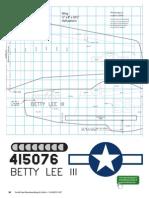 Airplane Whirligig Pattern 1