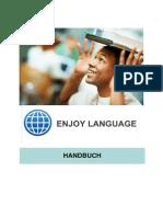 Enjoy Language within tourism Handbook in German