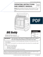 Mr. Heater Big Buddy Manual