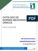Catalogo de Normas 2013 A