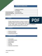 Informe de Simulacro Derrames de Sustancias