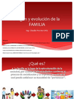 Origen y evolución de la FAMILIA