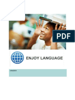 Enjoy Language within tourism Handbook in Swedish