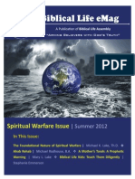 Biblical Life eMag 2 Spiritual Warfare Issue