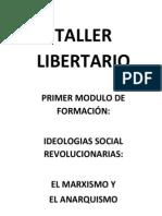 Folleto Bases Teoricas Del Marxismo y El Anarquismo