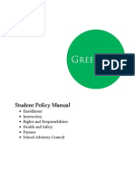 Green Dot Student Policy Manual