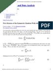 First Returns of the Symmetric Random Walk when p=q « Basic Statistics and Data Analysis