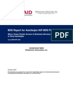 """mR 83 - Impact Assessment of Mercy Corps Project """"Cluster Access to Business Services"""" in Rural Azerbaijan"""