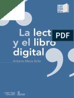 La Lectura y El Libro Digital