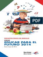 Folleto Educar Para El Futuro 2014