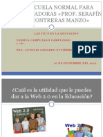 Utilidad de la Web 2.0 en la Educación