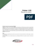 Manual Pulsar Luxe 125