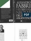 Historias Negras Del Futbol Argentino - Alejandro Fabbri