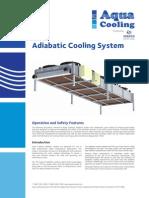 Aqua Cooling Adiabatic Cooling System