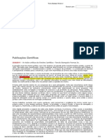A visão crítica do Ensino Jurídico -Tercio Sampaio Ferraz Jr