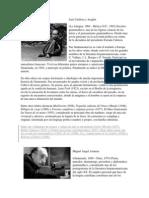 Luis Cardoza y Aragón biografias