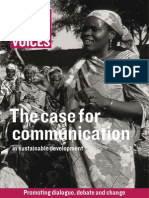 Case for Communication in Sustainable Development