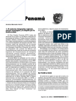 Andrés Barreda - El Plan Puebla Panama
