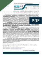Nota de Prensa Postmaster
