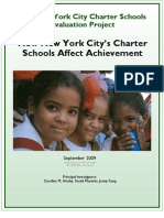 The New York City Charter Schools Evaluation Project