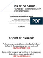 III Fórum Disputa pelos Dados 2013