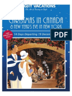 Insight Christmas in Canada and NEW YORK CITY
